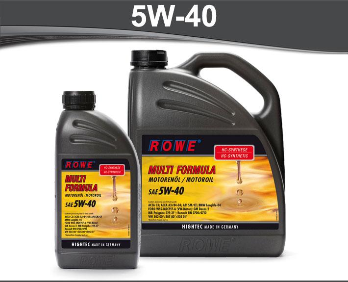 rowe hightec multi formula 5w 40. Black Bedroom Furniture Sets. Home Design Ideas
