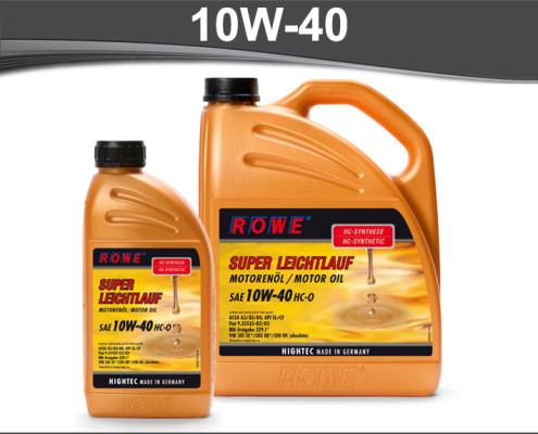 Rowe Hightec Super Leichtlauf HC-0 10W-40