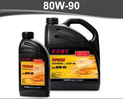 Rowe Hightec Topgear 80W-90