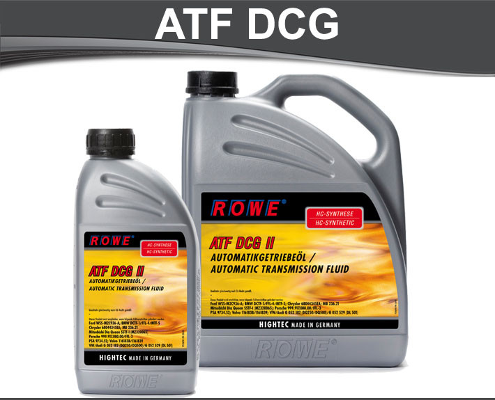 Ulje za mjenjace Rowe Hightec ATF DCG II