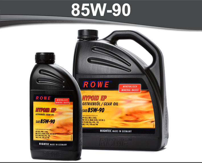 Ulje za mjenjace Rowe Hightec Hypoid EP 85W-90