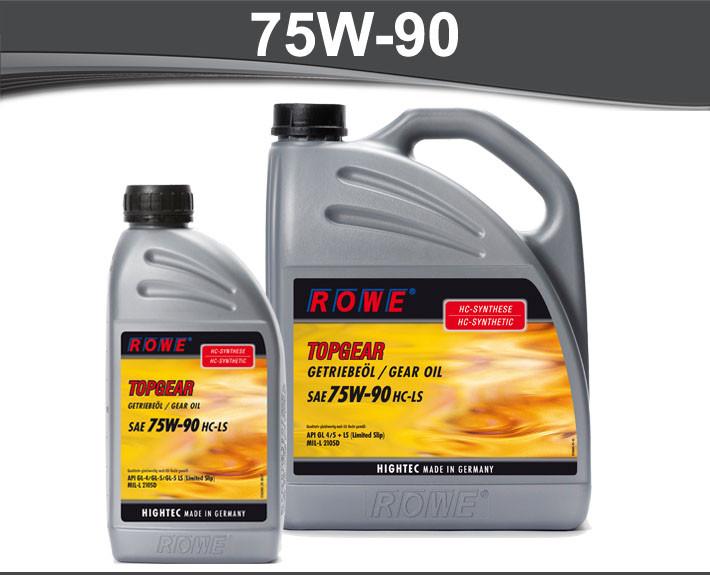 Ulje za mjenjace Rowe Hightec Topgear 75W-90 HC-LS