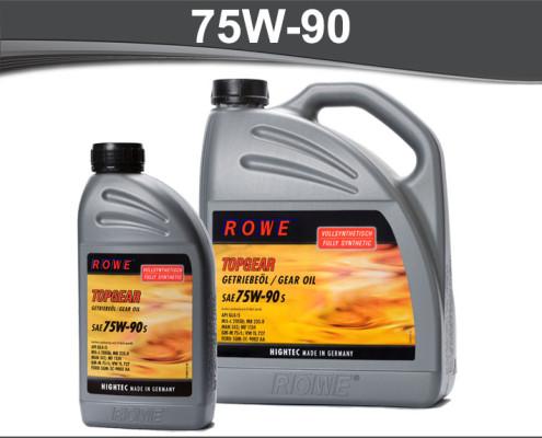 Rowe Hightec Topgear 75W-90 S